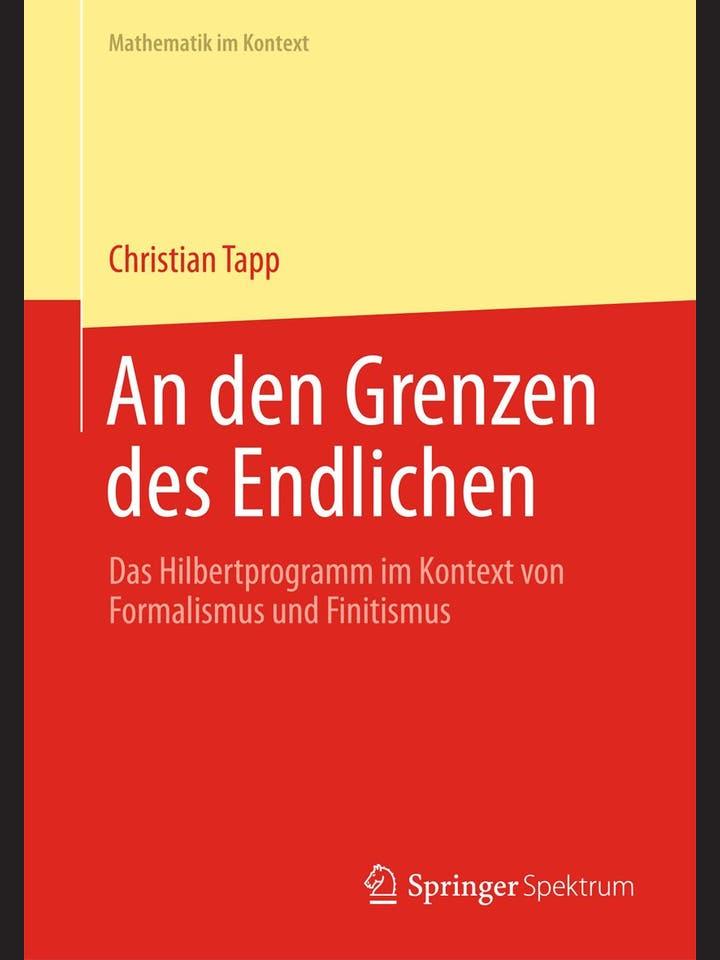 Christian Tapp: An den Grenzen des Endlichen