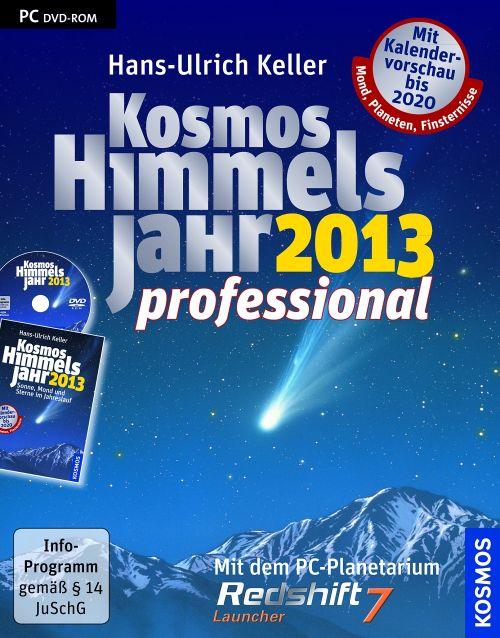 Kosmos Himmelsjahr 2013 Professional, Buch mit DVD-ROM