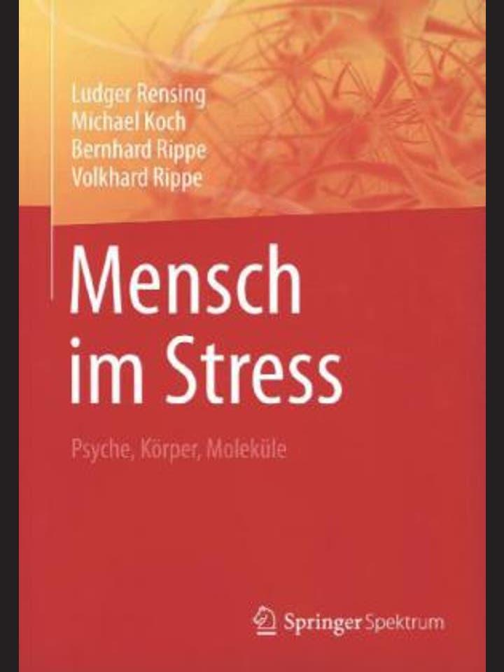 Ludger Rensing, Michael Koch, Bernhard Rippe, Volkhard Rippe: Mensch im Stress