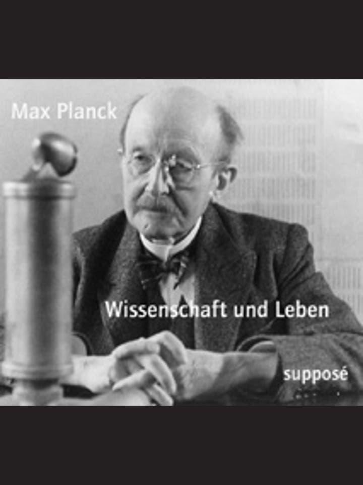 Klaus Sander (Hrsg.): Max Planck – Wissenschaft und Leben. Originaltonaufnahmen