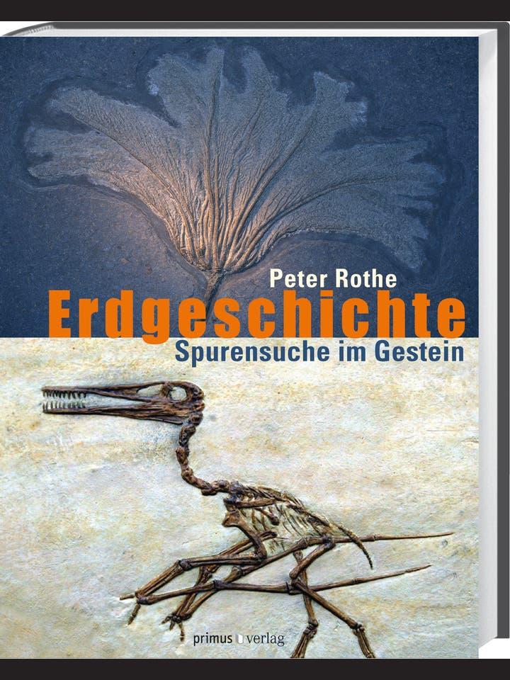 Peter Rothe : Erdgeschichte. Spurensuche im Gestein