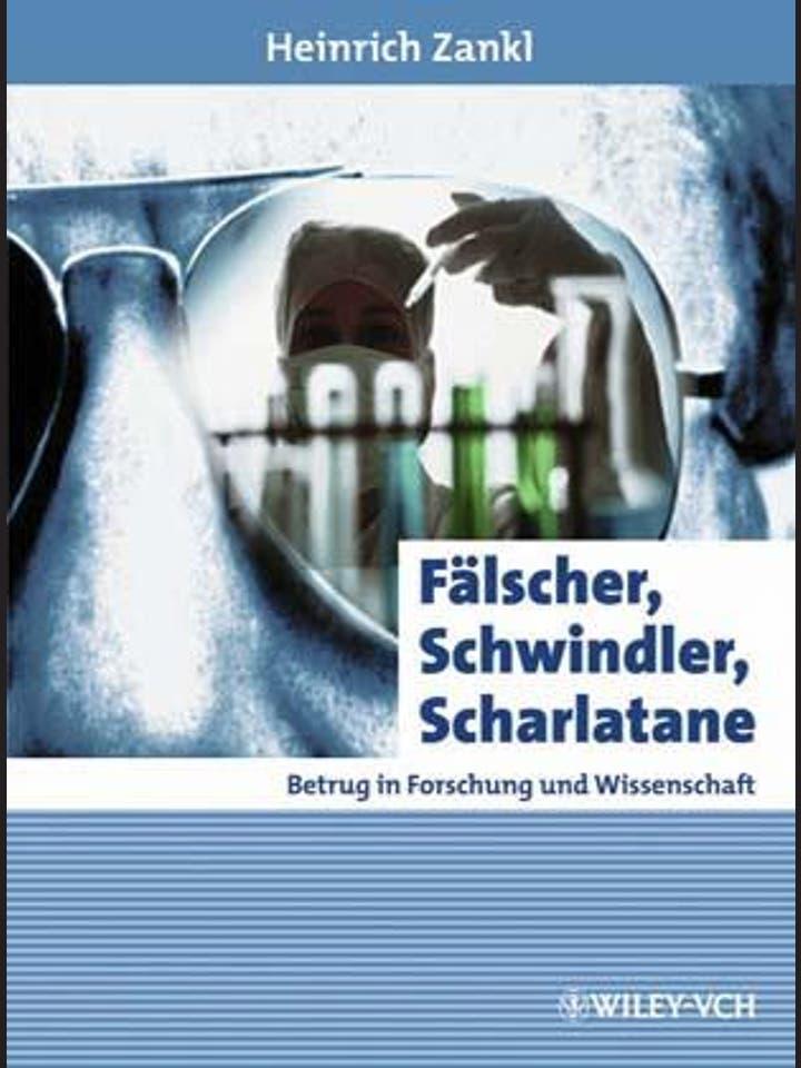 H. Zankl: Fälscher, Schwindler, Scharlatane