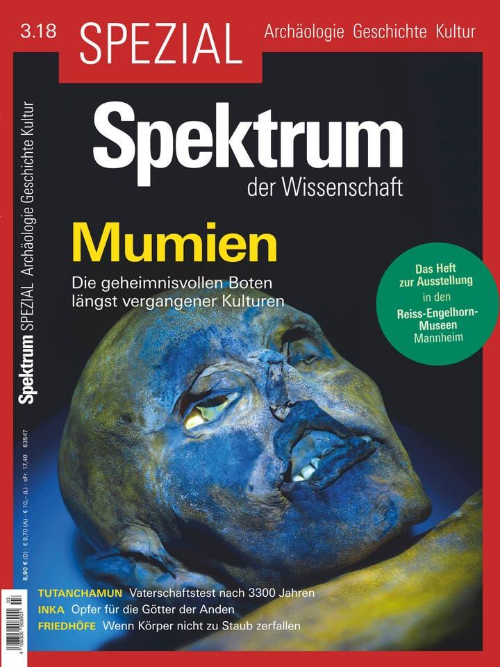 Spezial Archäologie - Geschichte - Kultur 3/2018