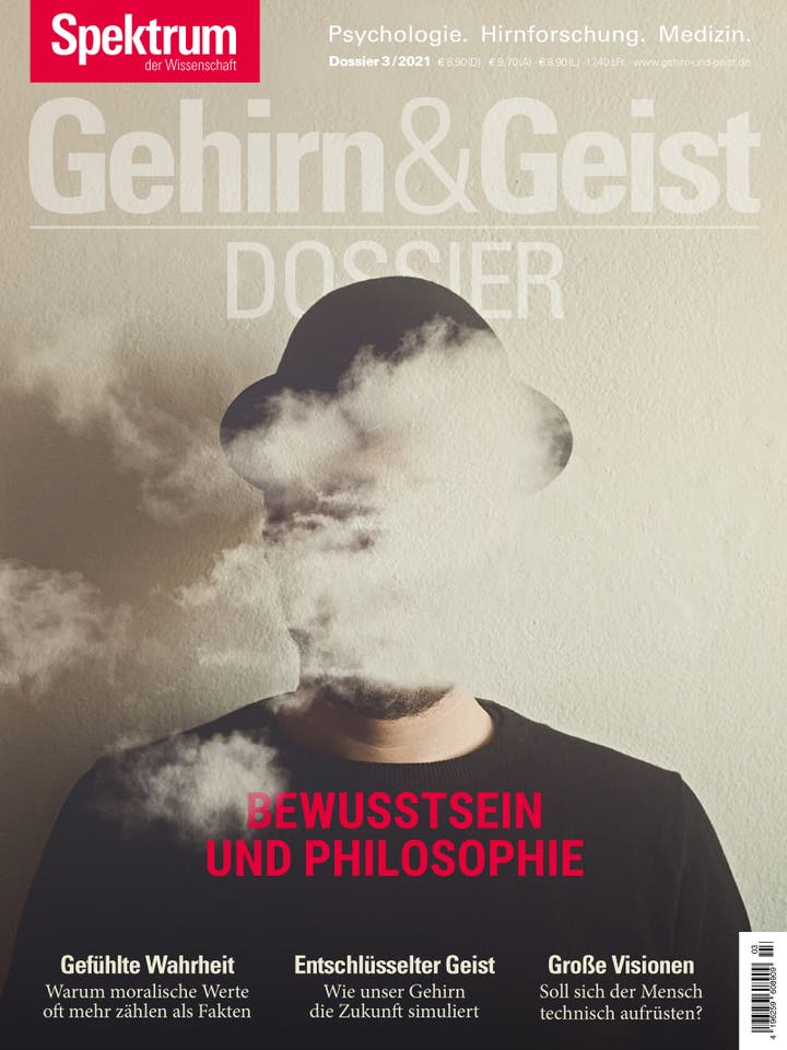 Gehirn&Geist Dossier 3/2021<br /> Bewusstsein und Philosophie