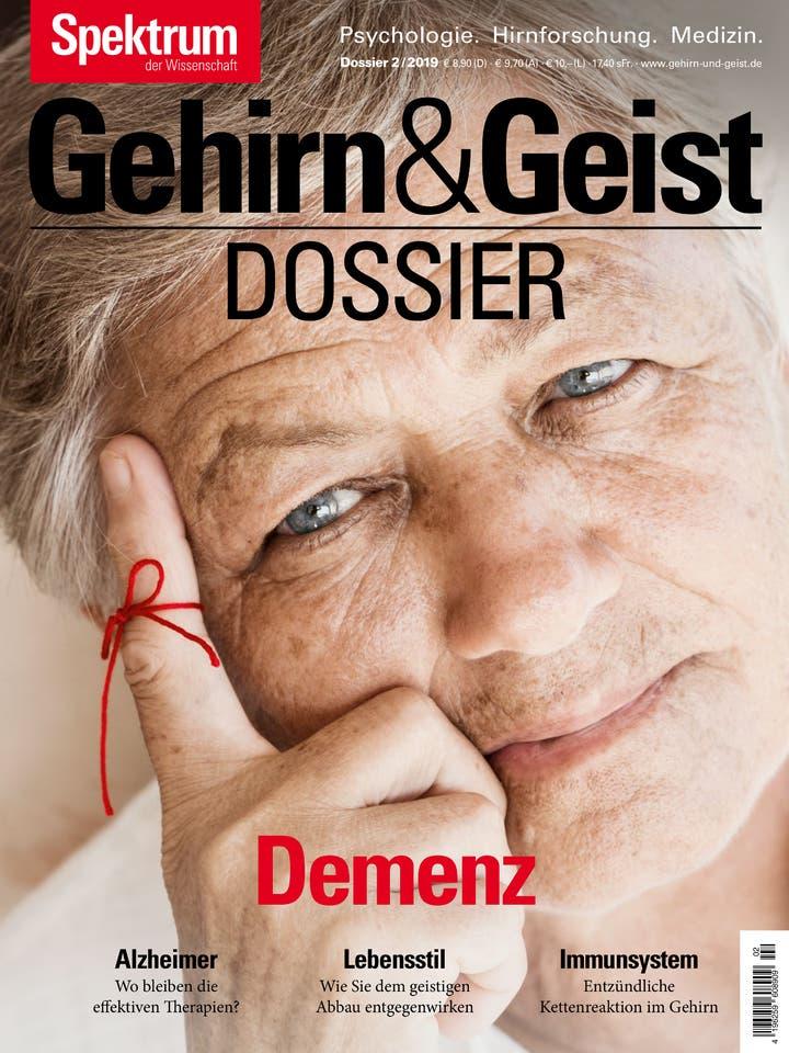 Gehirn&Geist Dossier 2/2019<br /> Demenz