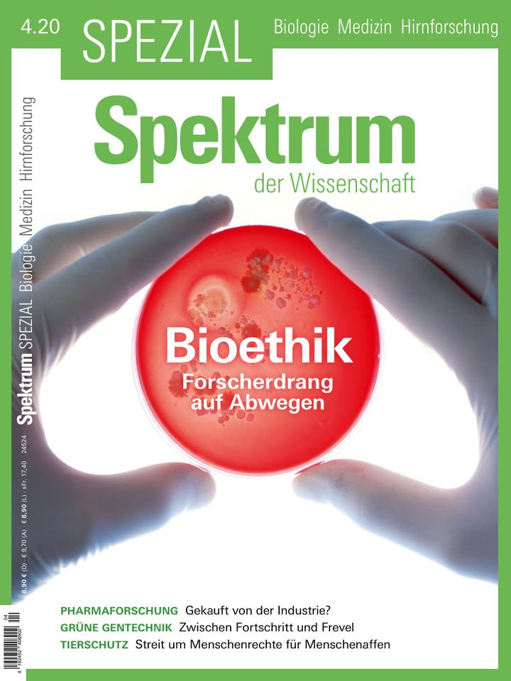 Spezial Biologie - Medizin - Hirnforschung 4/2020