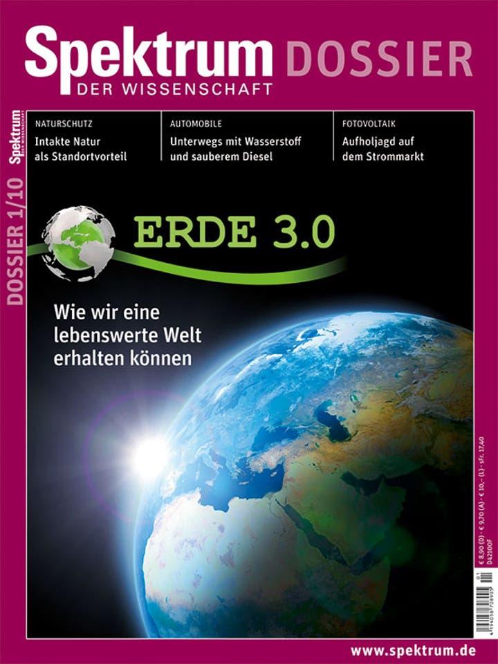 Spektrum der Wissenschaft Dossier 1/2010<br /> Erde 3.0 – Wie wir eine lebenswerte Welt erhalten