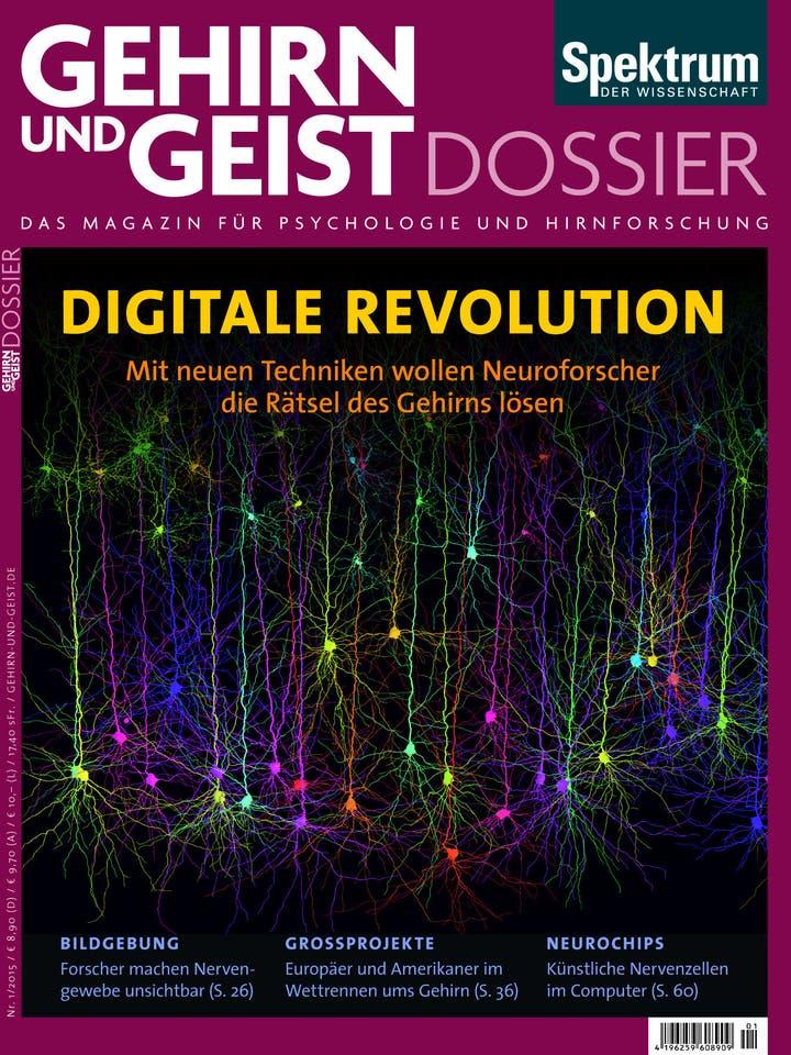 Gehirn&Geist Dossier 1/2015<br /> Digitale Revolution