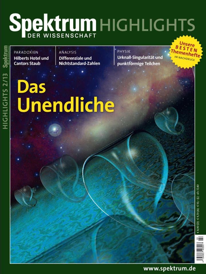 Spektrum der Wissenschaft Highlights 2/2013<br /> Das Unendliche