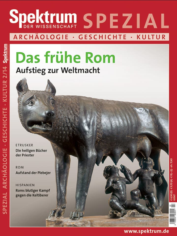 Spezial Archäologie - Geschichte - Kultur 2/2014