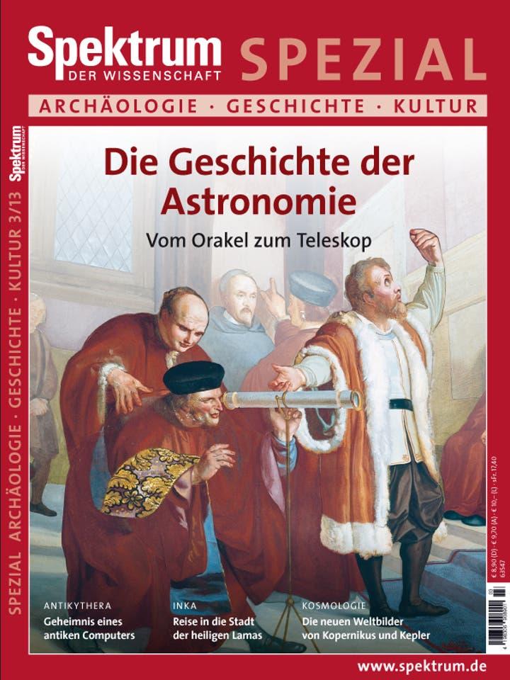 Spezial Archäologie - Geschichte - Kultur 3/2013