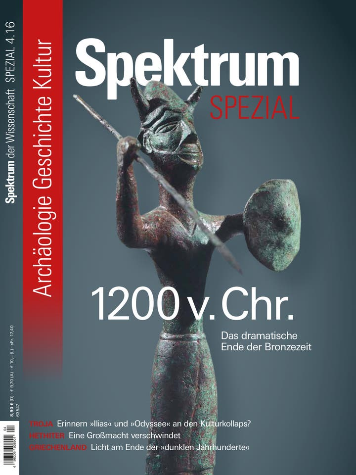 Spezial Archäologie - Geschichte - Kultur 4/2016