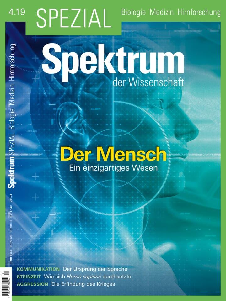 Spezial Biologie - Medizin - Hirnforschung 4/2019