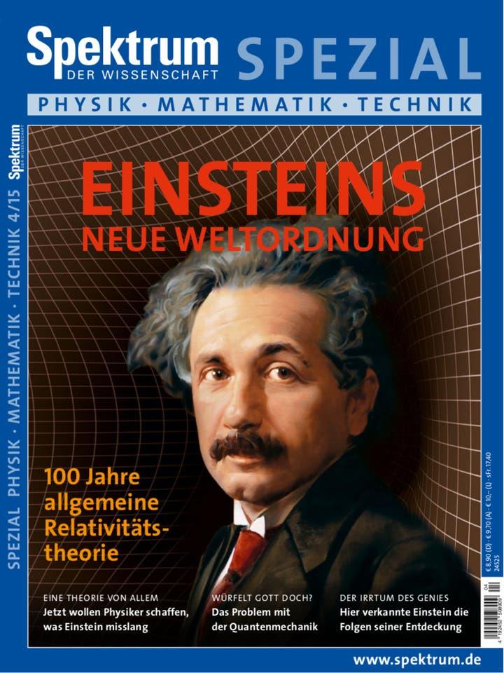 Spezial Physik - Mathematik - Technik 4/2015