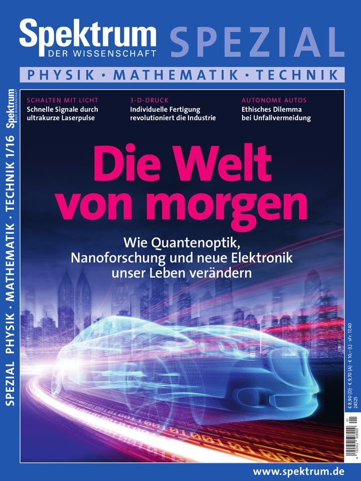 Spezial Physik - Mathematik - Technik 1/2016