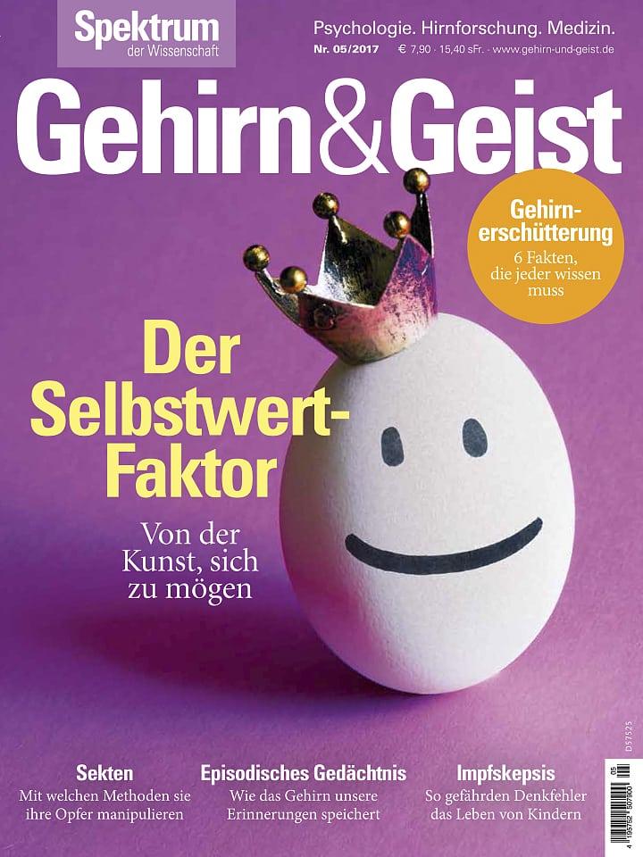 Heftcover Gehirn&Geist 5/2017