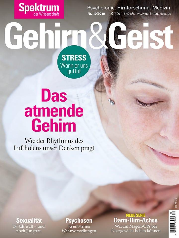 Heftcover Gehirn&Geist 10/2019