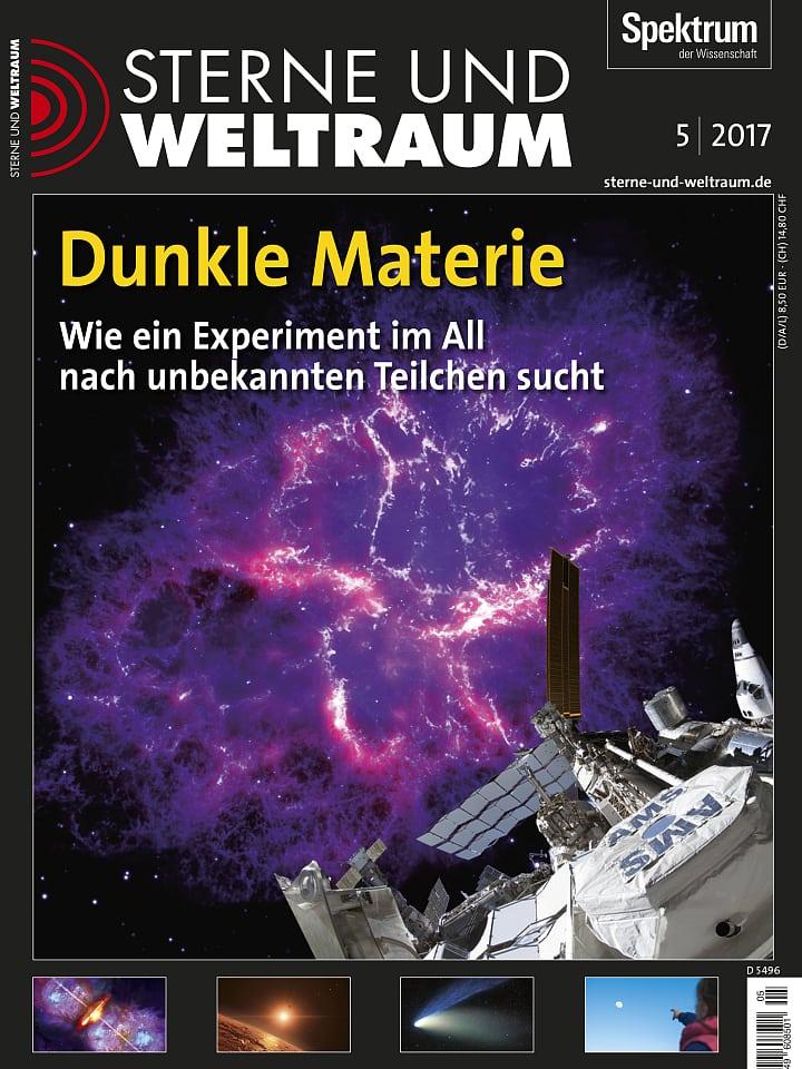 Heftcover Sterne und Weltraum Mai 2017