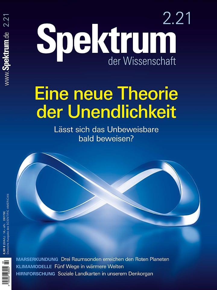 Heftcover Spektrum der Wissenschaft 2/2021