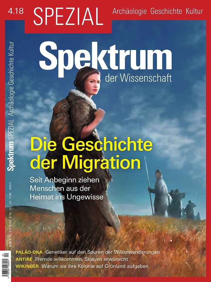 Spezial Archäologie - Geschichte - Kultur 4/2018