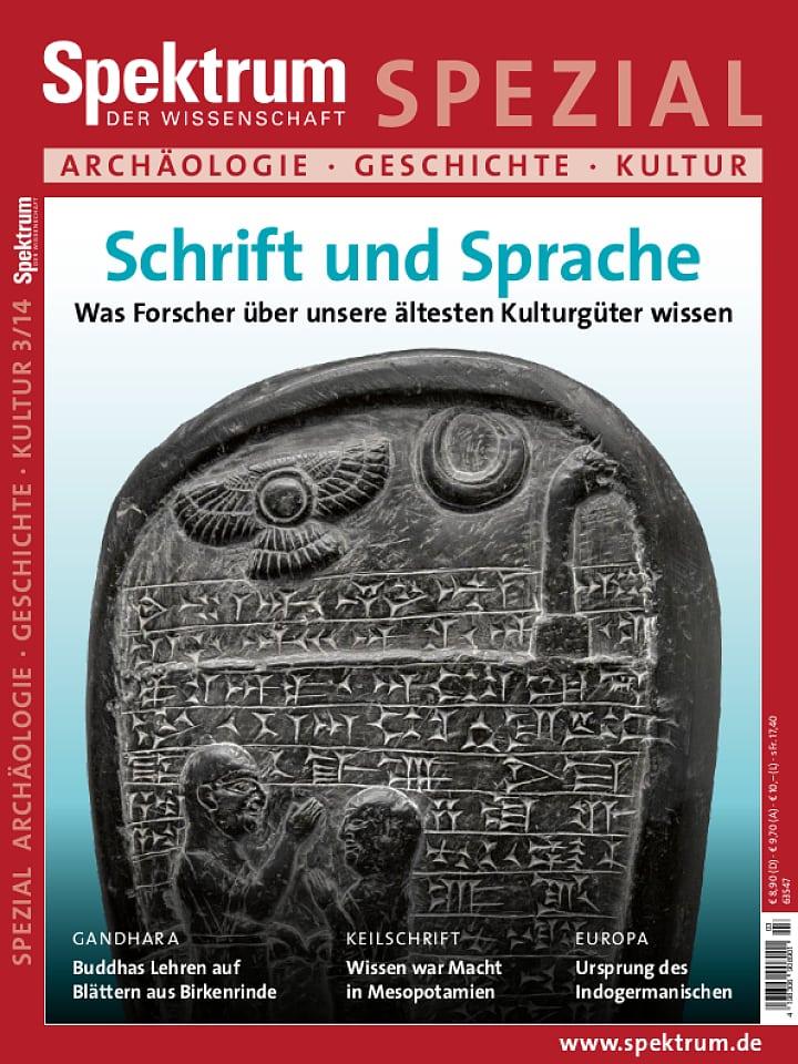 Spezial Archäologie - Geschichte - Kultur 3/2014