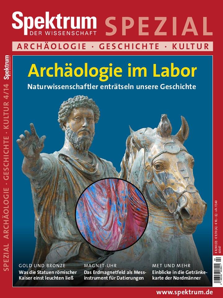 Spezial Archäologie - Geschichte - Kultur 4/2014