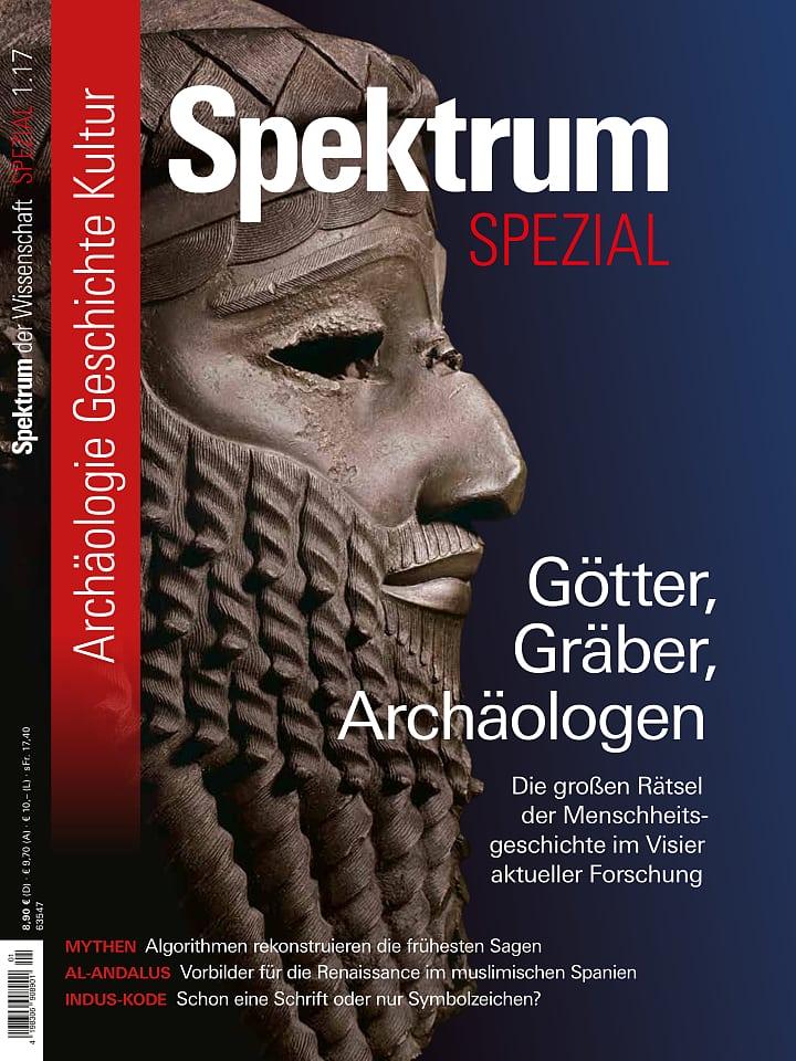 Spezial Archäologie - Geschichte - Kultur 1/2017