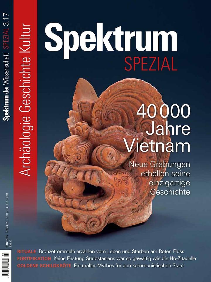 Spezial Archäologie - Geschichte - Kultur 3/2017
