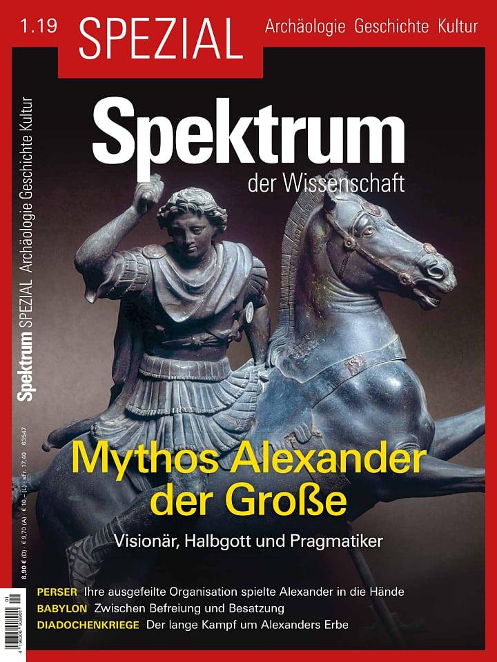 Spezial Archäologie - Geschichte - Kultur 1/2019