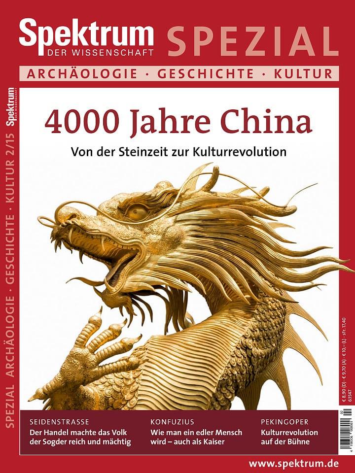 Spezial Archäologie - Geschichte - Kultur 2/2015