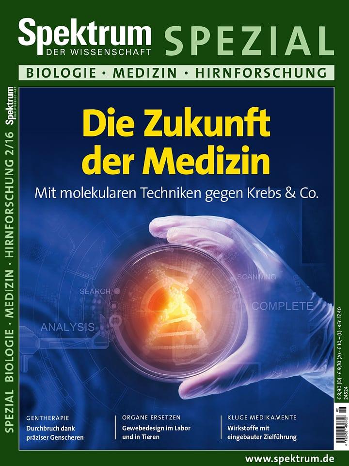 Spezial Biologie - Medizin - Hirnforschung 2/2016