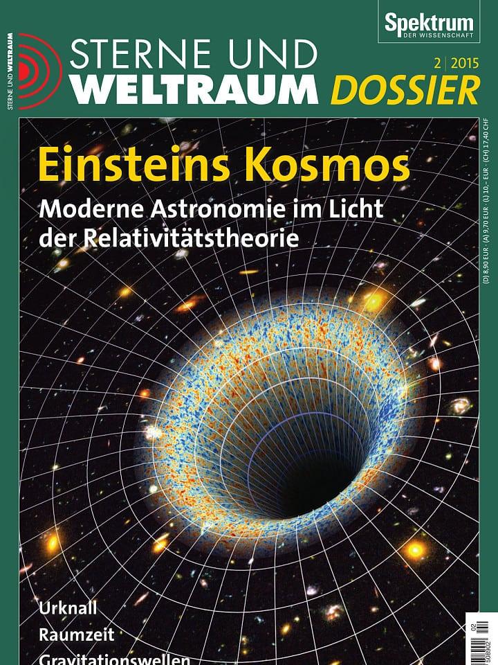 Heftcover Sterne und Weltraum Dossier 2/2015 Einsteins Kosmos