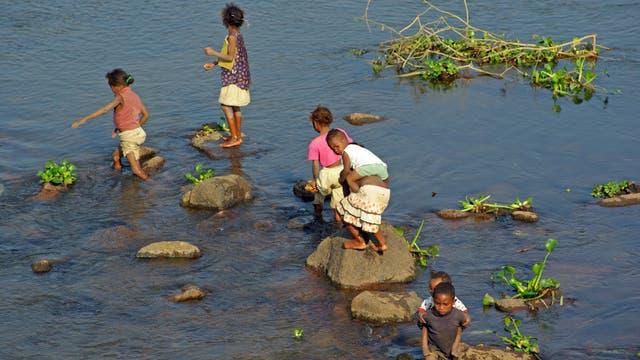 Gewässer übertragen oft Bilharziose