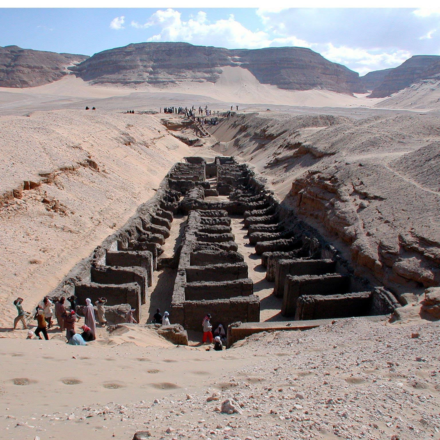 Abydos-Grabung