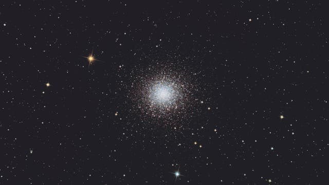Messier 13 im Sternbild Herkules