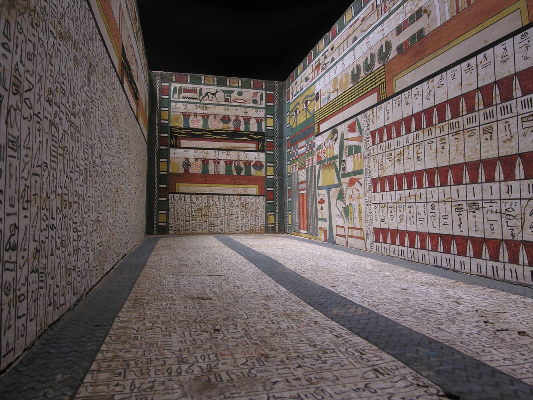 Sarkophag in Luxor