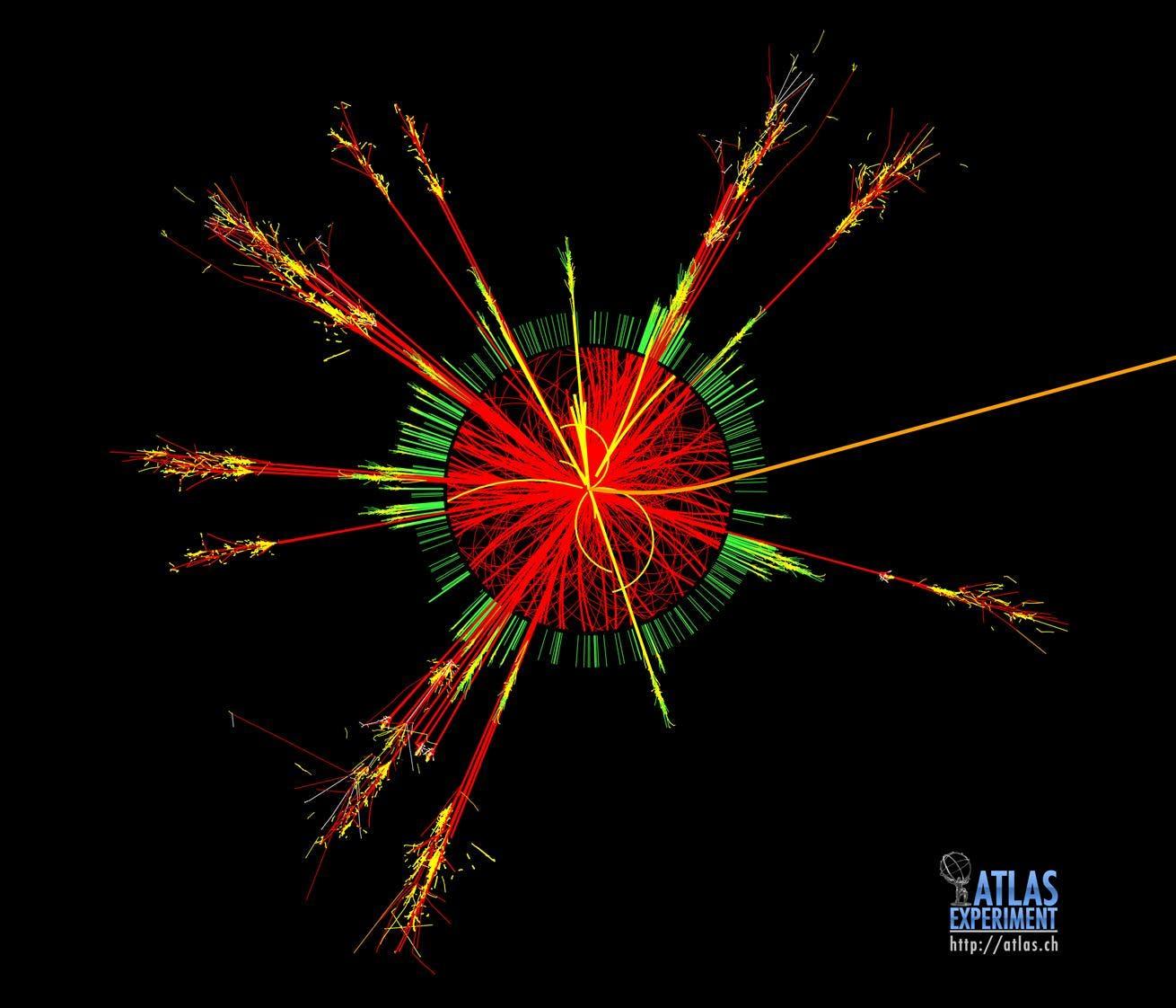 Schwarzes Loch im Detektor