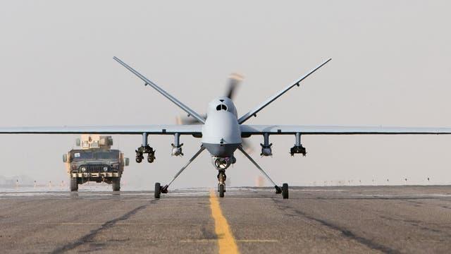 Drohne MQ-9 beim Start