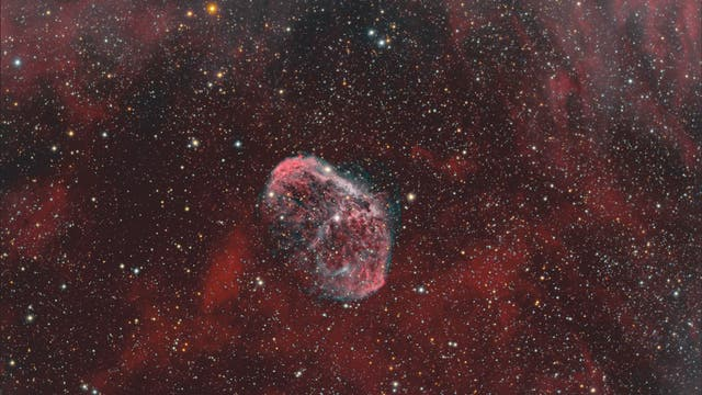 Crescentnebel NGC 6888 im Sternbild Schwan
