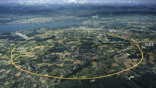 LHC-Beschleuniger