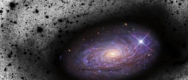 M63 hat Zwergalaxie verspeist
