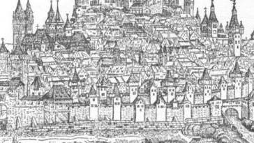Stadt im Mittelalter: Nürnberg