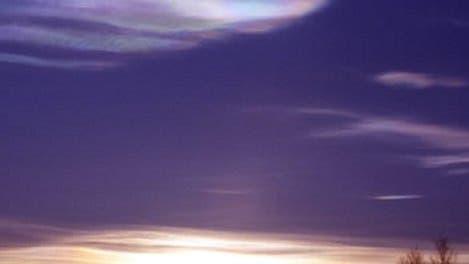 Stratosphärenwolke