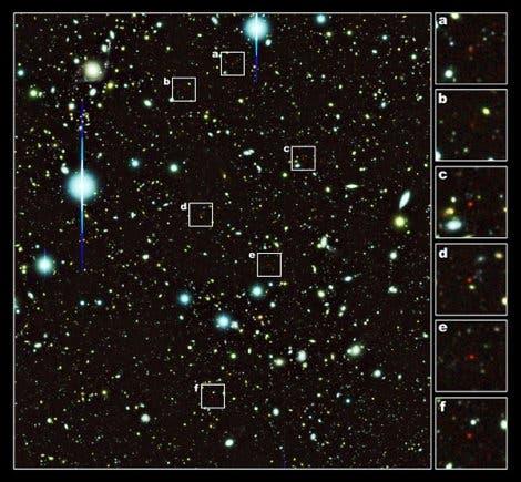 Der Galaxienhaufen heute