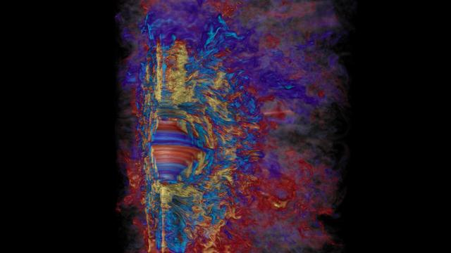 Simulation einer Hypernova