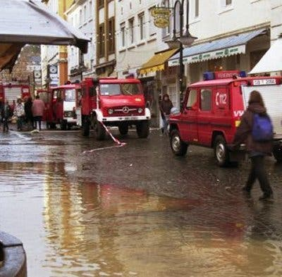 Hochwasser in Saarbrücken