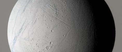Der Eismond Enceladus