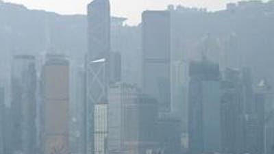 Dicke Luft in in Hongkong