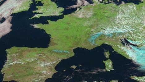 Blick auf Europa