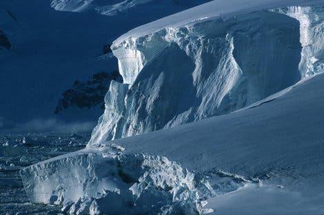 Antarktischer Gletscher